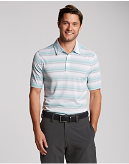 B&T S/S Courtyard Stripe Polo