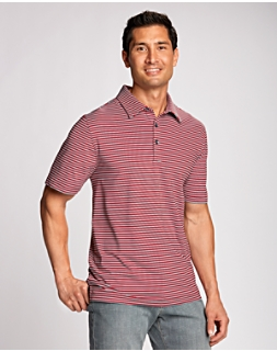 B&T Division Stripe Polo
