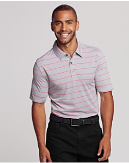 Pivot Stripe Polo