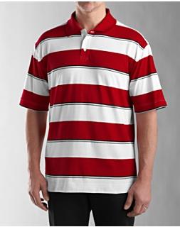 Grove Stripe Jersey Polo