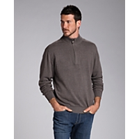 B&T Broadview Half Zip Sweater