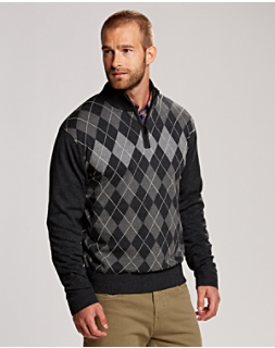 B&T Blackcomb Half Zip Sweater