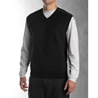 B&T Miles Patterned V-neck Vest