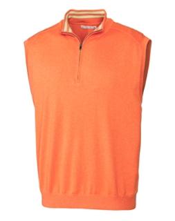 B&T Thomas Half Zip Vest