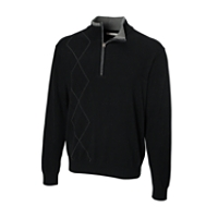 Triple Play Argyle Half Zip