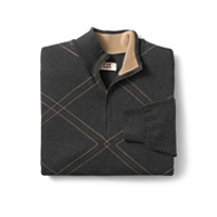 B&T Dry Valley Argyle Half Zip