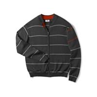 Newcastle Striped Full Zip Cardigan
