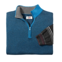 B&T Haven Birdseye Half Zip