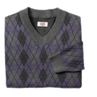 B&T Kains Argyle V-neck