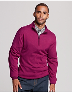 B&T Collin Half Zip Mock