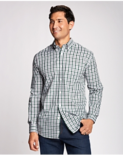 B&T L/S Epic Easy Care Grant Plaid