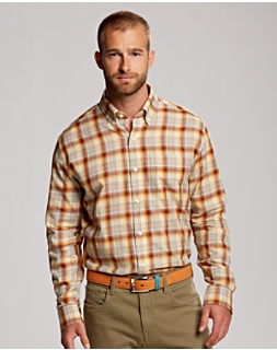 B&T L/S Treasure Valley Plaid