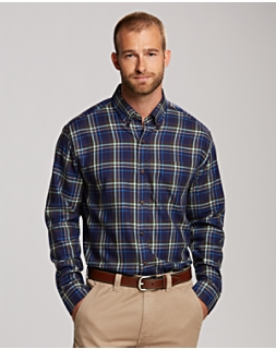 B&T L/S Matthew Plaid