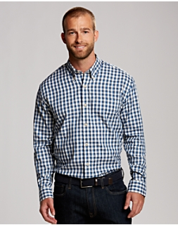 B&T L/S Lake Plaid