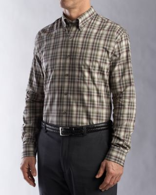 Cutter & Buck Big & Tall Shirt Formosa Plaid