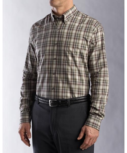 Cutter & Buck Big & Tall Shirt Formosa Plaid