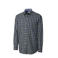 B&T L/S Inside Passage Plaid