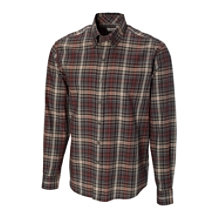 B&T L/S McCrea Plaid