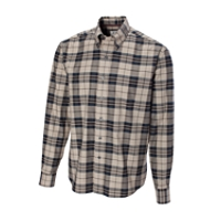 B&T L/S Malden Plaid