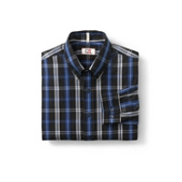 B&T L/S Gardner Plaid