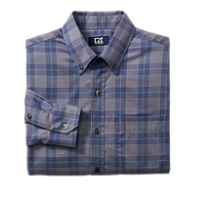 B&T L/S Thurlow Plaid