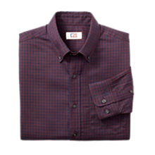 B&T L/S Asher Gingham