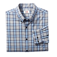 B&T L/S Five Sails Plaid