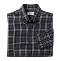 B&T L/S Towers Plaid