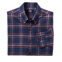 B&T L/S Dock Place Plaid