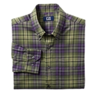 B&T L/S Haswell Plaid