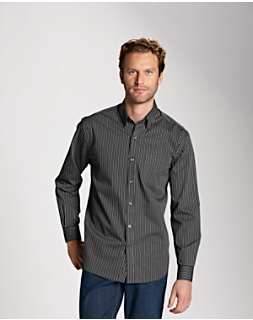 B&T L/S Epic Easy Care Pin-Stripe
