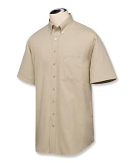 B&T S/S Nailshead Woven Shirt