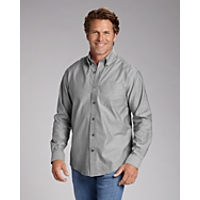 B&T L/S Epic Easy Care Royal Oxford