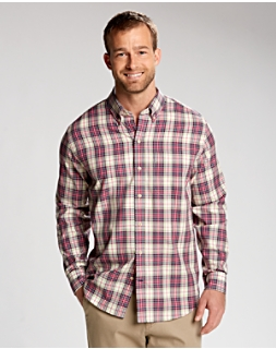 L/S Lupine Plaid