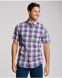 B&T S/S Beaulieu Plaid