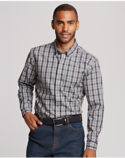B&T Non Iron Monte Plaid