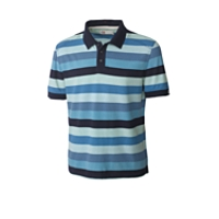 B&T Edmonds Stripe Polo