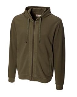 B&T Yesler Garment Dye Full Zip