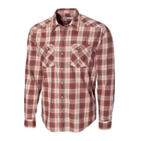 L/S Union Gap Plaid