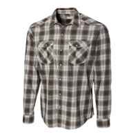 B&T L/S Union Gap Plaid