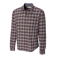 B&T L/S First Hill Plaid