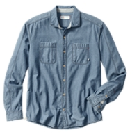 B&T L/S Vale Denim Shirt