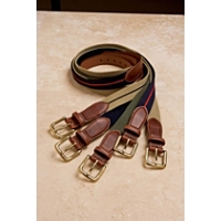 "Brighton Men's 1 1/4"" Wool Surcingle Belt"