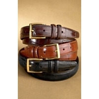 "Brighton 1-1/8"" Large Tile Croco Belt"