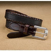 Brighton Espresso Laced Belt