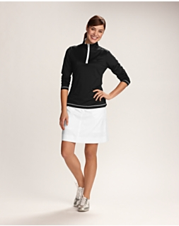 Women's CB DryTec L/S Choice Zip Mock