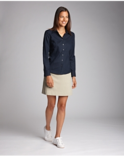 Women's L/S Epic Easy Care Fine Twill