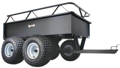 4-Wheel Steel ATV Cart