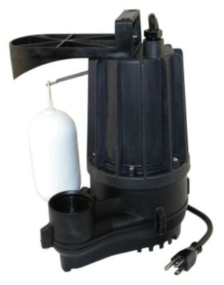 1/2 HP Thermostatic Submersible Sump Pump with Vertical Float Switch