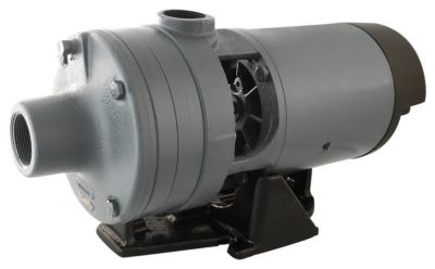 1 HP 2-Stage Centrifugal Pump with Plastic Impeller